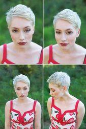 10 Super Short Hair Ideas on Pretty Ladies