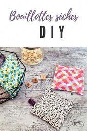 Bouillotte sèche DIY : Couture d'Automne facile