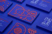 Illustrator Business Card Mit Illustrationen verlieh Mireldy Design aus Zagreb der kroatischen Digitalagen...