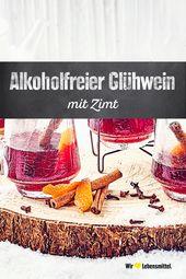 Alkoholfreier Glühwein   – Heißgetränke