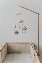 Baby Mobile / Kindergarten Mobile / Mobile bebe / Baby Shower Geschenk – Modern Craftman
