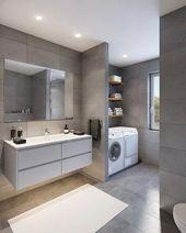 26+ Gray Bathroom Ideas Worthy of Your Experiments…