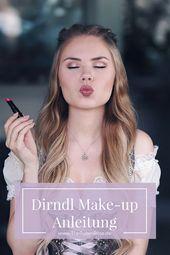 Dirndl-Make-up-Anleitung für das Oktoberfest in M…