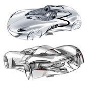 Tägliche Skizze: Porsche-Konzeptstudien von Grigory Butin gallery: Check Grigory's …   – porsche