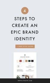 4 Steps to Create an Epic Brand Identity + a Free …