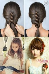 Bob haircut Ponytail Hairstyles For Children Asian hair # Asian # bob # hairstyles # for # hair # haircut