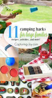 11 Camping Hacks für große Familien – Campen
