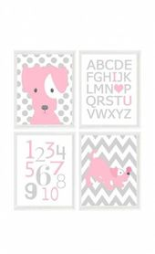 45 Ideas Baby Room Gray Pink Polka Dots  45 Ideas  #Baby #classpintag #Dots #exp…   – Baby Room