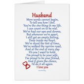 Husband Love Card | Zazzle.com