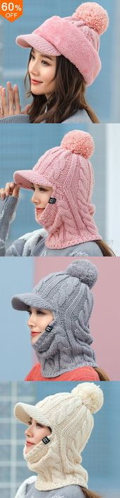 60% off&Free shipping. Women Winter Outdoor Warm Headpiece Multifunction Knitted… – Hello, Gabrielle