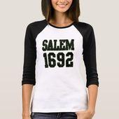 Salem 1692 T-Shirt | Zazzle   – Halloween frightfest