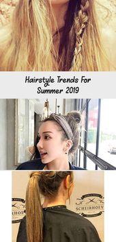 Frisurentrends für den Sommer 2019