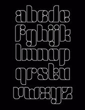 48 Modular alphabets as you like – #Alphabet #Lovely #Modulars #after  – Typografie