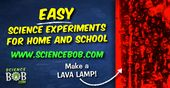 Find lots of easy Science Experiments perfect for trying out home or at school!