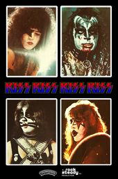 Kiss Alive Ii Cover Stand Up Display Kiss Photo Hot Band Kiss