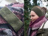 DIY Stirnband mit Perlmuster stricken – kleine DIY Geschenkidee :  DIY Stirnband…