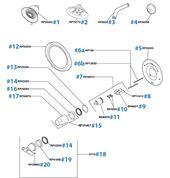 Delta Tub Shower Faucet Repair Parts