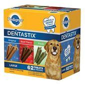Pedigree Dentastix Dog Treats Assorted Flavors 62 Treats Dog