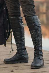 Verillas – Motorbike Monolith Boots – # aesthetic # boots #computer #desing #educat …, # ä …