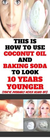 This Is How To Use Coconut Oil And Baking Soda To Look 10 Years Younger #LipScrubRecipe