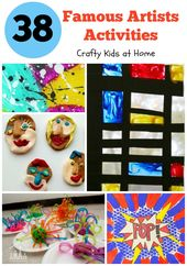 38 Superior Artwork Tasks for Children Impressed by Well-known Artists