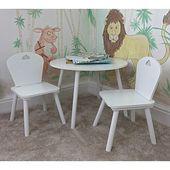 Campbell Kinder 3-teiliges Tisch- und Stuhlset Harriet Bee   – Products