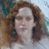 "Susan Jansen on Instagram: """"Corinne"" #painting …"