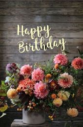 Fantastic Free of Charge happy Birthday Flowers Concepts If you're looking for…