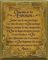 α JESUS NUESTRO SALVADOR Ω: Oración los esposos, Señor haz de nosotros un s…