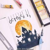 Elegante 25-seitige Ideen für die gruselige Zeitung Halloween Bullet   – DIY-Kunstprojekte