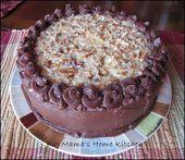 Home Kitchen von Big Mama: Deutscher Schokoladenkuchen