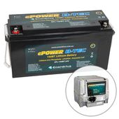 Enerdrive ePOWER B-TEC 24V 100Ah Lithium Battery & 30A Industrial Battery Charger Pack