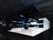 Bachmann Kern | Bundesdruckerei // Hannover Messe International (HMI) 2018   – 01_ Exhibition stand design