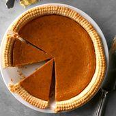 This Homemade Pumpkin Pie Has a—Wait For It— Graham Cracker Crust!