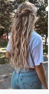 Photo of 30 süße und einfache lange Frisuren für die Schule