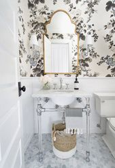 One Room Challenge Fall 2017: Powder Room Reveal! …