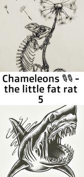 Chamäleons 🌼✨ – die kleine fette Ratte 5