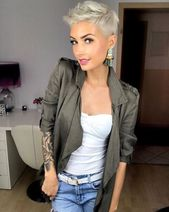 Super short and mega cool! Who dares these 10 mega cool looks? – Hairstyles for her