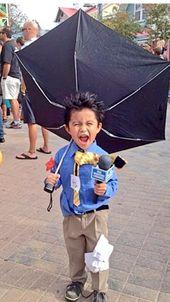 Costume de carnaval pour enfants – reporter météo   – Faschingszeit