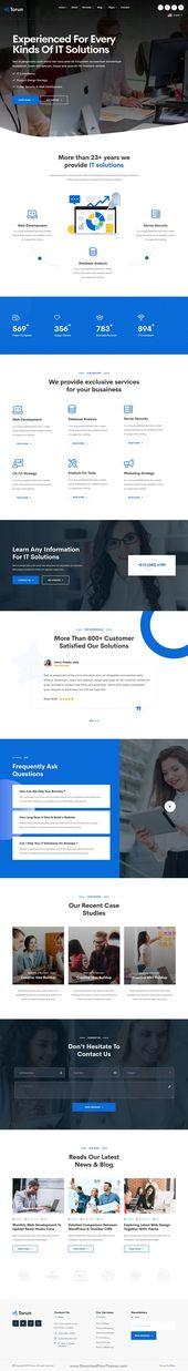 Torun – Technology IT Solutions & Services HTML5 Template