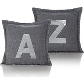Sequinned Letter Mini Cushion A-Z | Home | George
