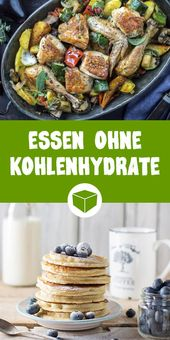 Eating without carbohydrates – these recipes are low carb & delicious   – Gesunde Rezepte & Meal Prep