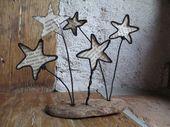 Ein Schauer von Sternen …   – Trådslöjd
