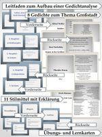 Gedichtanalyse Grossstadtlyrik Lyrik Gedichte Unterrichtsmaterial Im Fach Deutsch Gedicht Analyse Lyrik Unterrichtsmaterial