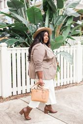 Plus Size Winter Neutrals with Lane Bryant