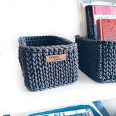 Crochet Basket Pattern Decorative Crochet Storage Basket Easy Crochet Pattern Diy Basket Organizer Knit Basket Beginner Organizing Container