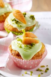 Muffins de zanahoria   – Muffins