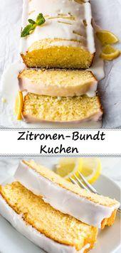 Das Rezept für den leckersten und saftigsten Zitronen-Bundt-Kuchen aller Zeiten!    – Rezepte