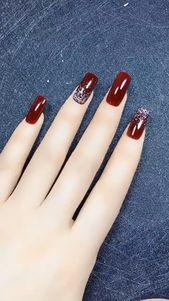 20 Trendy Nail Art Designs für lange Nägel für Mädchen