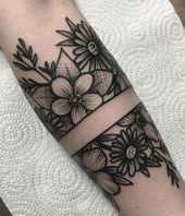 57 Beste Armbinden-Tattoos mit symbolischen Bedeutungen [2019 – Tattoo Ideen